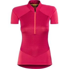 Mavic Sequence Graphic Maillot manches courtes Femme, jazzy